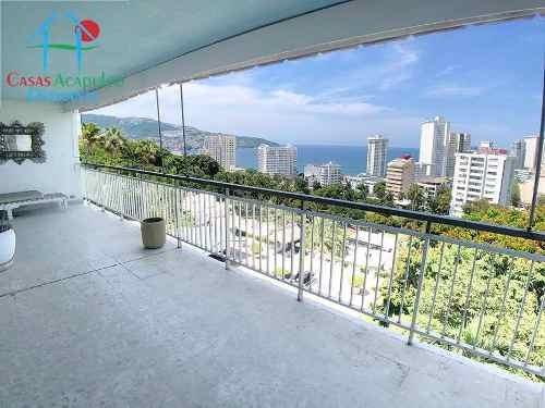 Cad Acapulco Towers 403. Terraza Con Vista Al Mar