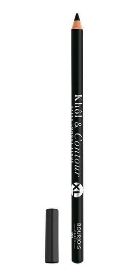 Lápis Para Olhos Bourjois Khôl & Contour - 01 Black Xl