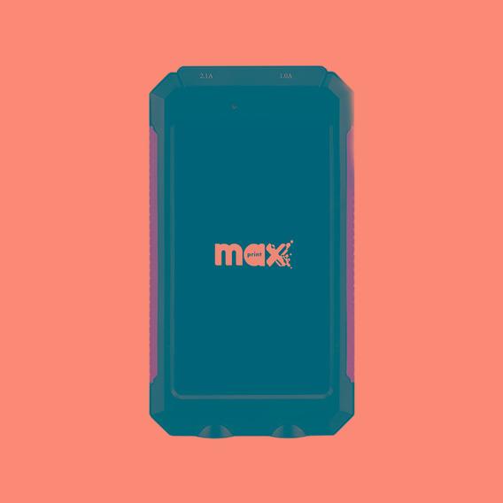 Power Bank Para Celular - 8000 Mah Maxprint Sport 601264-1