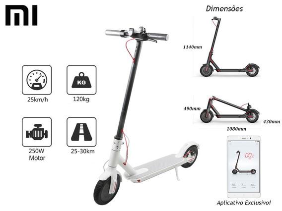 Patinete Mi Electric Scooter Xiaomi M365 - Original