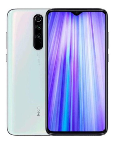 Imagem 1 de 4 de Smartphone Xiaomi Redmi Note 8 Pro Branco Pérola 6gb 128gb