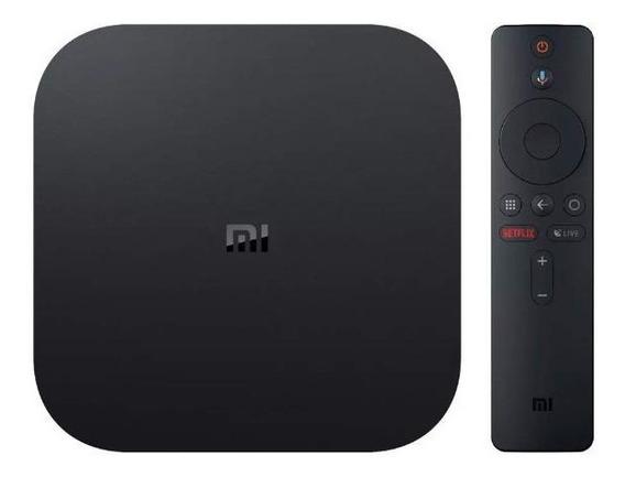 Xiaomi Mi Box S 4k Ultra Wifi + Hdmi - (preto)