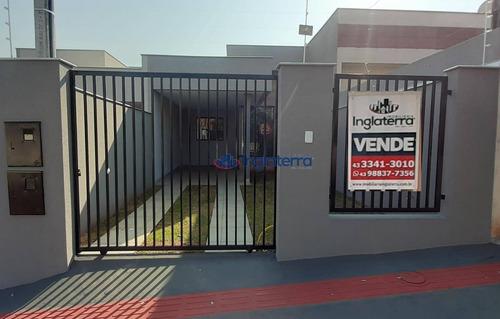 Imagem 1 de 30 de Casa À Venda, 108 M² Por R$ 320.000,00 - Columbia - Londrina/pr - Ca1616