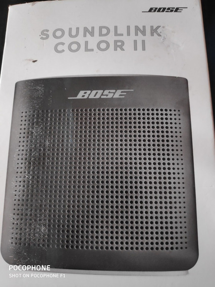 Bose Soudlink Color 2 Semi Nova Preta