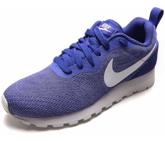 Tenis Running Morado-blanco Nike Runner 2 Eng Mesh