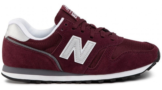 New Balance Zapatillas Lifestyle Hombre Ml373 Bordo