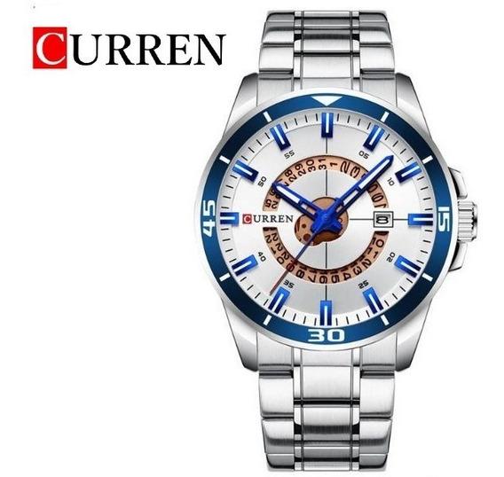 Reloj Curren Analógico Fechador Original 3 Atm 8359