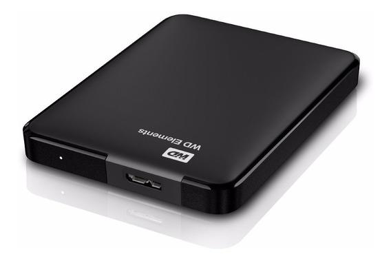 Disco Rígido Portátil Wd Western Digital Externo 2tb Usb 3.0