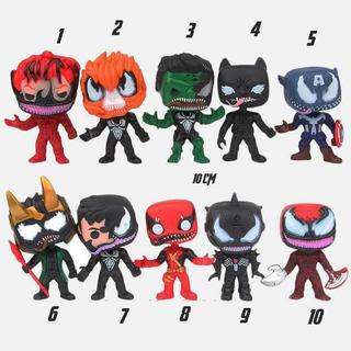Muñecos Cabezones Chibi Marvel Avengers Ver. Venom Loki Cap