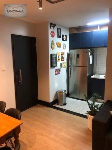 Apartamento Com 2 Dormitórios À Venda, 47 M² Por R$ 325.000,00 - Centro - Diadema/sp - Ap0115