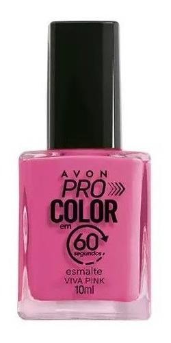 Imagem 1 de 1 de Avon - Pro Color 60 Segundos - Esmalte - Viva Pink