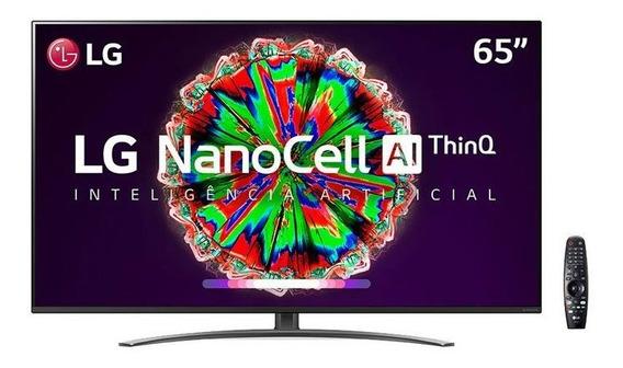 Smart Tv Nanocell 65 Polegadas LG Nano81sna 4k Bluetooth