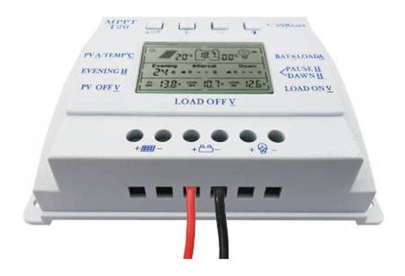 Controlador De Carga Da Bateria Energia Solar Mppt 20a