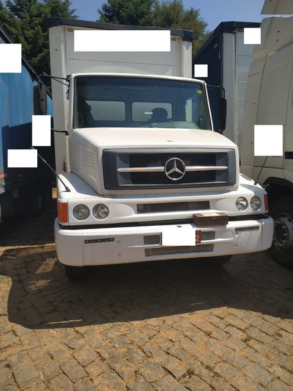 Mercedes Benz Mb 1620 6x2 Truck 2004 Com Baú Sider