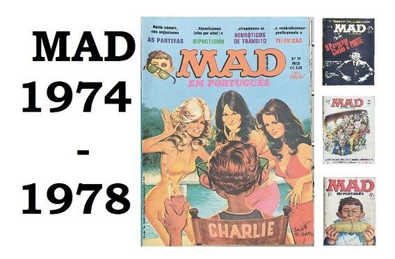 Lote Revistas Mad (1974 A 1978) - Envio Grátis - Escolha 1