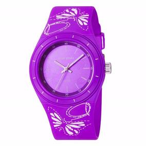 Relógio Mormaii Feminino Lilás 2035yg/8g