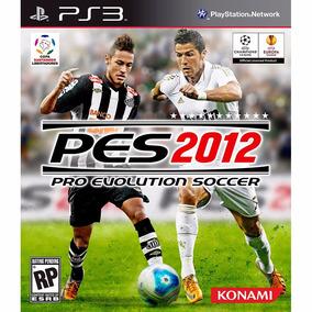 Pes 2012 Ps3 Pro Evolution Soccer Ótimo Estado