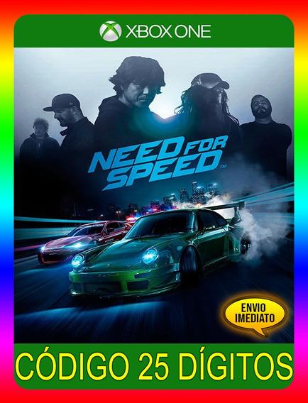 Need For Speed Xbox One - 25 Dígitos (envio Já)