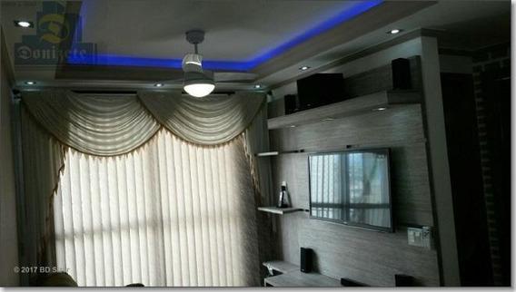 Apartamento Com 2 Dormitórios À Venda, 45 M² Por R$ 260.000,10 - Vila Homero Thon - Santo André/sp - Ap0852