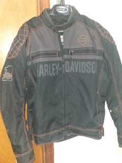 Chamarra Harley Davison - Riding Gear_buen Estado Impecable