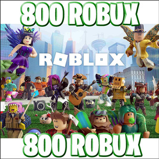 800 Robux - Roblox @ Entrega Inmediata