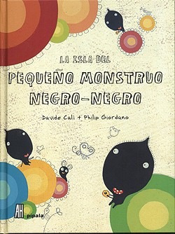 La Isla Del Pequeño Monstruo Negro-negro - Cali Y Philip