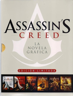** Assassin´s Creed - La Novela Grafica ** Estuche C 6 Tomos