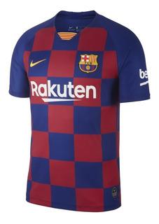 Camiseta Barcelona Versión Hincha Promo Liquidación 40% Off