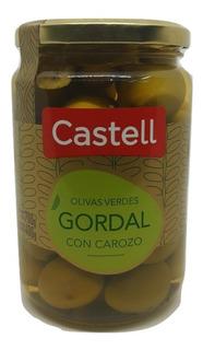 Aceitunas Verdes Gordal Castell En Salmuera 700g.