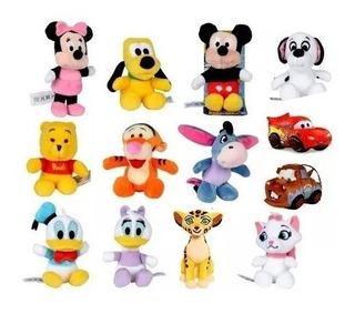 Peluche Mini Disney 7 Cm - Modelos Surtidos X Un
