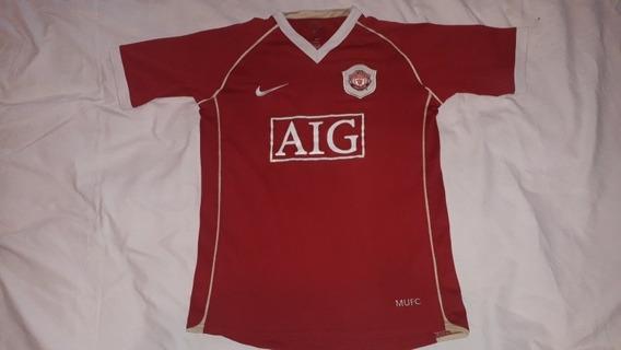 Camiseta Antigua Ca Manchester Nike Niño 12/14