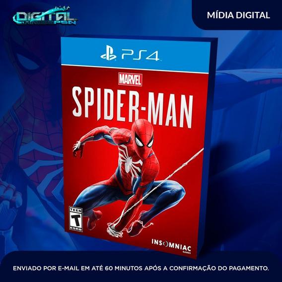 Spider Man Homem Aranha Ps4 Psn Primaria Envio 10 Min