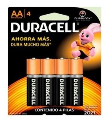 Pilas Duracell Aa 4 Und