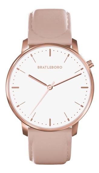 Reloj Muñeca Mujer Bratleboro - Rose Gold Peach S Acadia
