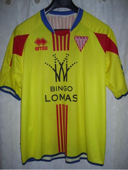 Los Andes Milrayitas Match Worn Errea Amarilla 2008 Talle M