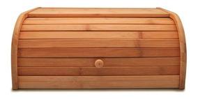 Porta Pão De Bambu 40x27,5x16,5cm