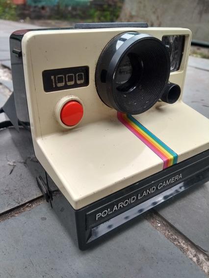 Câmera Polaroid Land Camera 1000 Perfeito Estado