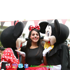 Muñecotes Minions Mickey Minnie Peppa Recreadoras Tematicas