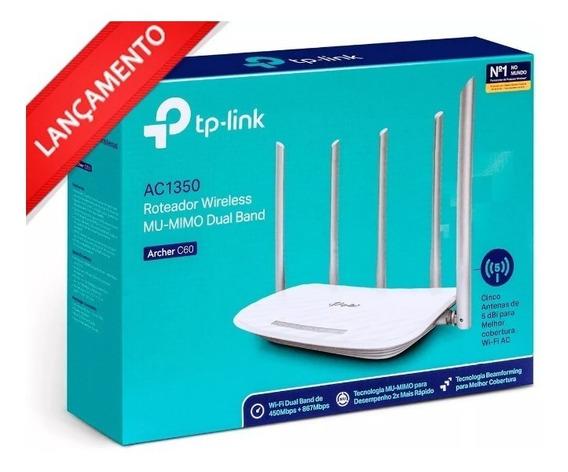 Roteador Wireless Tp-link Archer Archer C60 Ac1350 5 Antenas