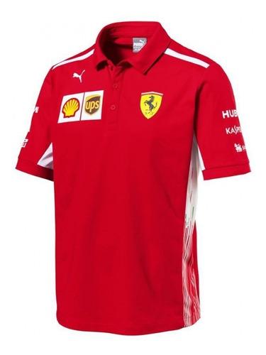 Promoção - Nova Camisa Polo Scuderia Ferrari F1 Team 2018
