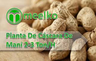 Planta De Cáscara De Maní 2-3 Ton/h Meelko