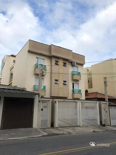 Linda Cobertura Com 2 Dormitórios À Venda, 113 M² Por R$ 375.000 - Vila São Pedro - Santo André/sp - Co0052