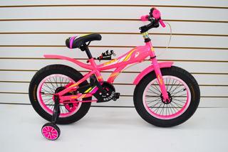 Bicicleta Rodado 16 Sbk Fat Bike Ruedas Anchas