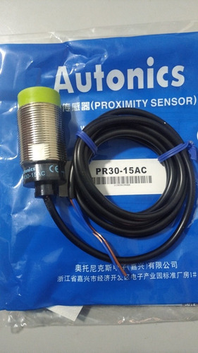 Sensor Inductivo 30mm Autonics