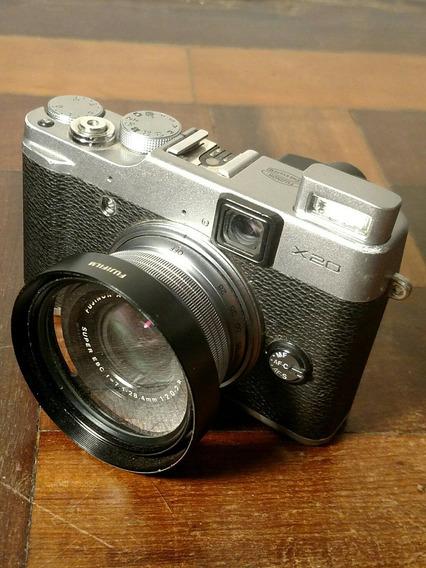 Camera Fuji X20 *com Defeito*
