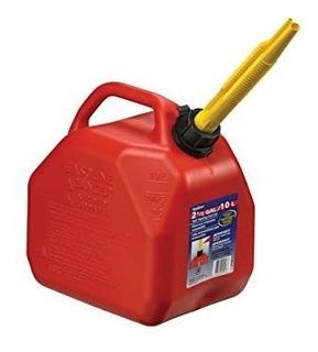 Bidon Para Gasolina 10 Litros Rojo