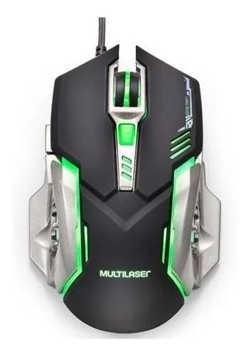 Mouse Gamer Multilaser 2400 Dpi Mo269