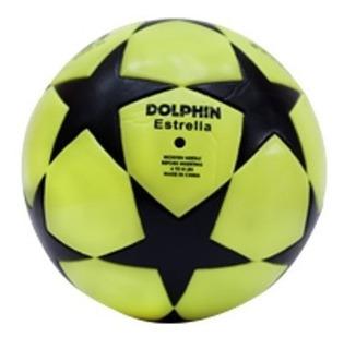 Pelota De Futbol N°5 Profesional Dolphin Estrella Cancha 11 Diseños Exclusivos Shox Palermo