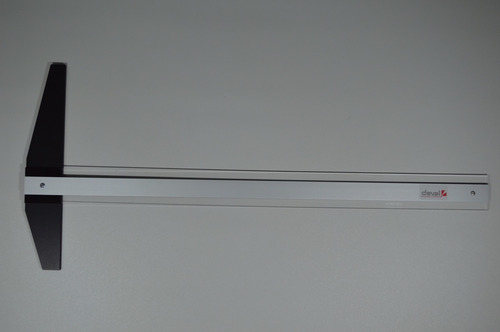 Imagen 1 de 5 de Regla T Deval Profesional De Aluminio | 90cms