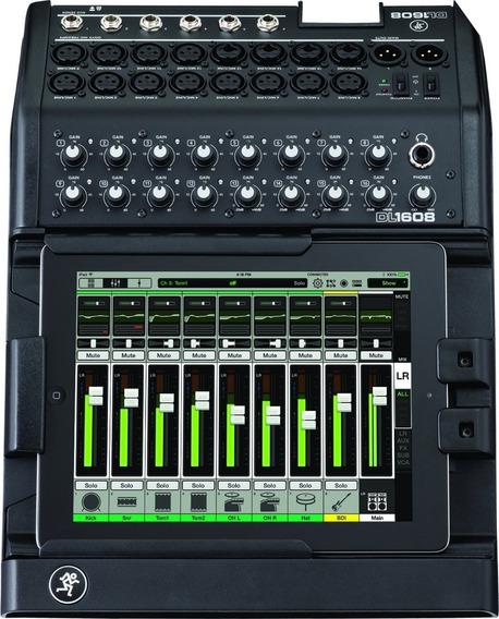 Mesa De Som Digital Mackie Dl1608 16 Canais iPad + Case